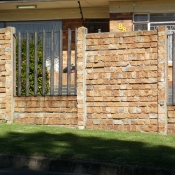 Concrete Brick with Steel Inserts by Country Wide Walling 3